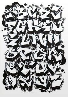 graffiti letters - Google Search