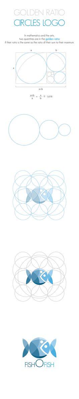 Golden Ratio, Circles Logo by Andrea Banchini