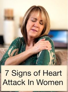 7 Signs of Heart Attack In Women