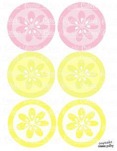 Pink Lemon Clip Art Pink lemonade 3.5 circles