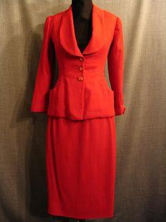 1940s women's suit