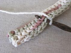 Double Thick crochet stitch technique. Favorite hotpad pattern.