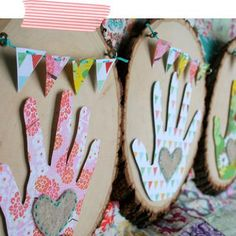 Mother's Day ~ Gifts From The Heart {hand print}
