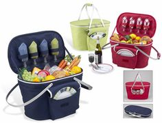 Collaspible Picnic Basket for Four/Two
