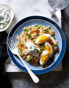 A Recipe for Curried Rice With Smoked Haddock and Eggs