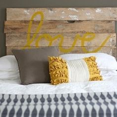Want to make your own headboard? Here are some great ideas.