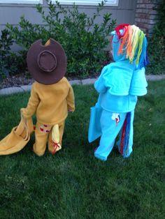 diy costumes, my little pony costume, poni, apples, curious george, happi halloween, heavens, crafts, happy halloween