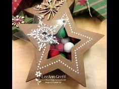 Beautiful Many Merry Stars kit! - Flowerbug's Inkspot. Treat holder version...
