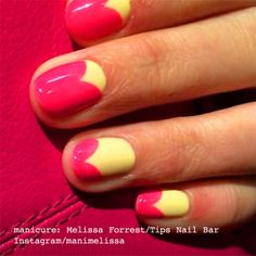 The Scalloped manicure_tulip manicure_sweetheart manicure_Melissa Forrest_Instagram