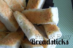 Favorites and Things: The Best Fast and Easy Breadsticks