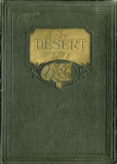 1922 Desert, University of Arizona Yearbook