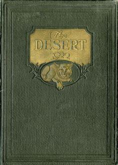 1922 Desert, University of Arizona Yearbook