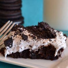 Refreshing Oreo Brownies