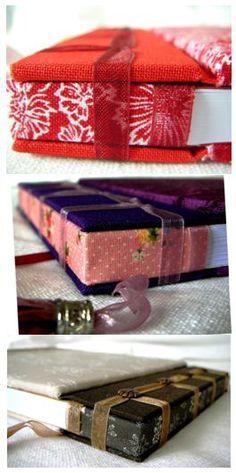 Stab bindings by Mar Sansano bookbind