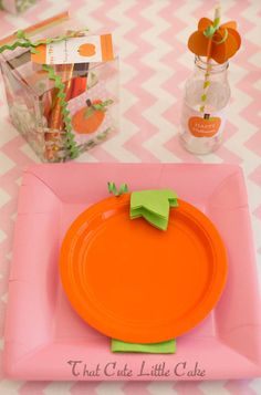 Cute table place set