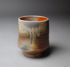 Clay Cup Wood Fired by JohnMcCoyPottery on Etsy, $30.00