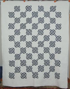 1920's Indigo quilt -
