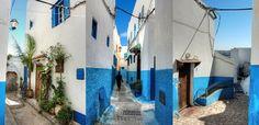 File:The streets inside the Kasbah of the Udayas, Rabat, Morocco.jpg