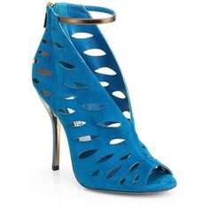 Jimmy Choo Tamber Suede Cutout Sandals. Gorgeous!!!   Nordstrom @Nordstrom
