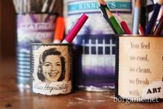 Multi-Purpose Photo Display Cans