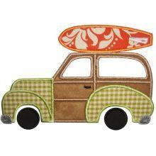 Woody wagon road trip tshirt appliquedare we by ColorfulThreds, $25.00
