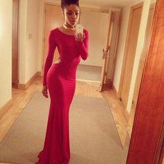 fashion, cloth, style, dresses, beauti, gown, closet, red dress, long dress