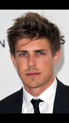 Chris Lowell has gorgeous blue eyes