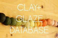 Ben Fiess has created an actual glazing database for all different cone firings