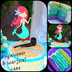 Fun mermaid party with a lot of craft ideas