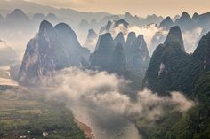 Li River China by Helminadia Ranford