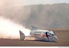 land speed record spirit of america - Later version.
