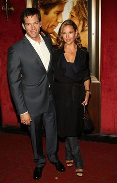 """Harry Connick, Jr. Singer Harry Connick Jr. and wife Jill Goodacre attend the premiere of """"Nights in Rodanthe"""" at the Ziegfeld Theatre on September 23, 2008 in New York City."""