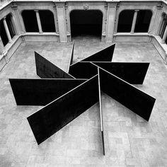 Richard Serra - 1, 2, 3, 4, 5, 6, 7, 8. 1987.