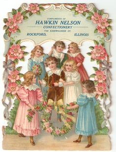 C 1900 Hawkin Nelson Confectionery