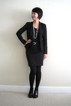 Cute interview attire for creative industries like fashion and graphic design