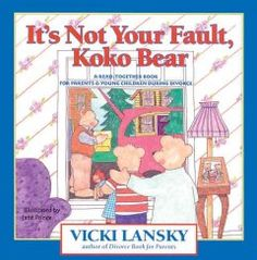 KoKo Bear learns what divorce means, how to deal with changes, how to recognize and deal with feelings, and that divorce is not KoKo's fault. Each page includes tips for parents. parents, vicki lanski, young children, bears, bear 1st, koko fault, koko bear, divorc, 4for3 book