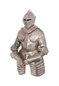 A COMPOSITE HALF-ARMOUR  EARLY 17TH CENTURY AND LATER