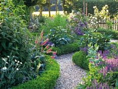 Boxwood Hedge: A low boxwood border gives a landscape traditional style. From HGTV.coms Garden Galleries by selena