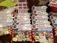 """""""Thank You"""" goodie bags for teachers at Dr. Pablo Perez Elementary, McAllen, TX prepared by Rosie"""