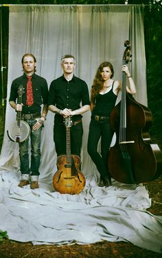 The Devil Makes Three. a relavent bluegrass band?? believe it.