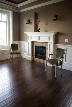BuildDirect: Hardwood Flooring Handscraped Maple Hardwood Floors Maple Coffee