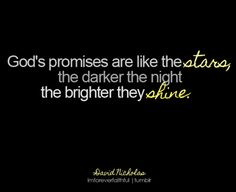 remember this, faith, jesus, stars, thought, inspir, shine, god promis, quot