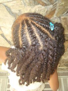 flat twists and two strand twists