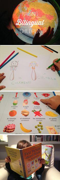 Helpful tips + resources for raising bilingual children…
