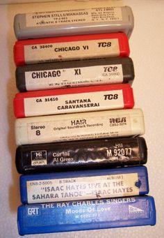 8 track tapes, oh god that seems like eons ago