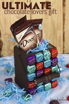 Ultimate chocolate lovers gift #sharethedove
