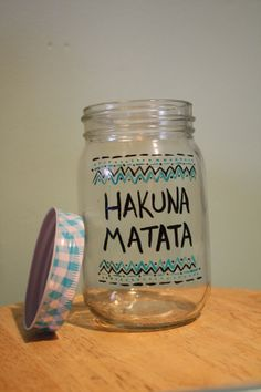 Hakuna Matata Drinking Glass