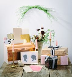 gift table, photo by Jenna Saint Martin http://ruffledblog.com/driftwood-wedding-inspiration #weddinggifts #gifts #favors