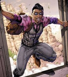 "Miguel Jose Barragan - New DC Comic's ""Teen Titans"" superhero. Born and raised in Mexico and openly homosexual."