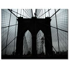 Trademark Global Brooklyn Bridge by Tammy Davison, Canvas Art - 24